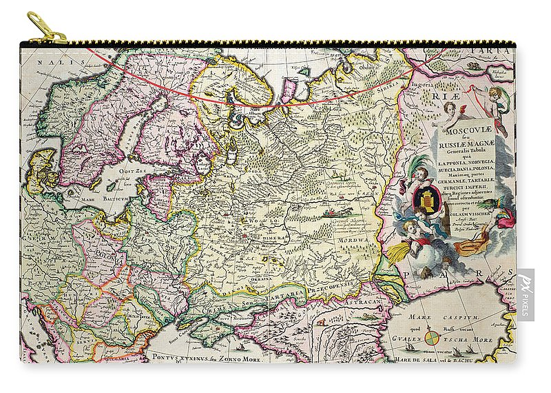 Map Of Asia Minor.Map Of Asia Minor Carry All Pouch