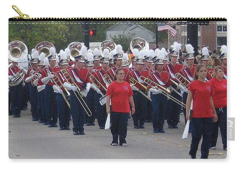 Parade Carry-all Pouch featuring the photograph Marching Band by Amy Hosp