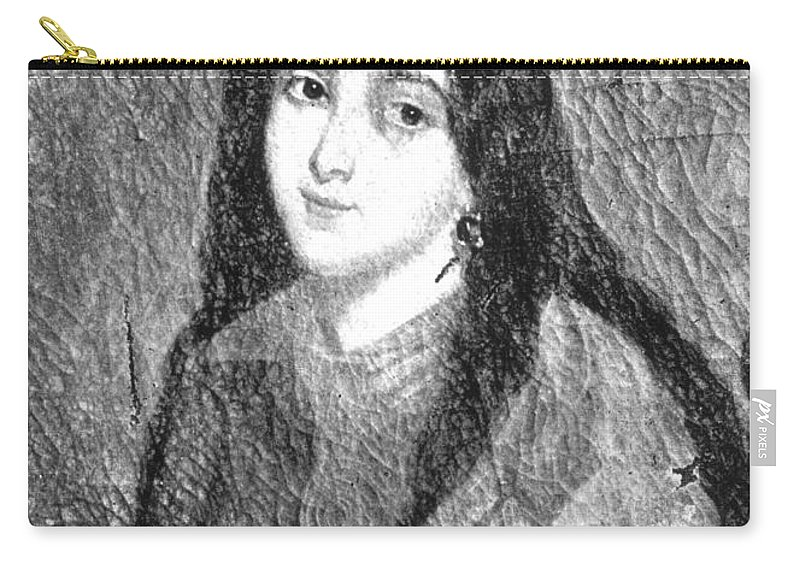 19th Century Carry-all Pouch featuring the painting Marie Duplessis by Granger