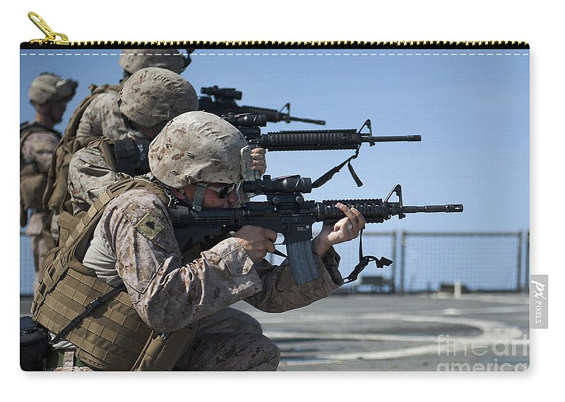 Marines Participate In M16 Rifle Carry All Pouch For Sale By