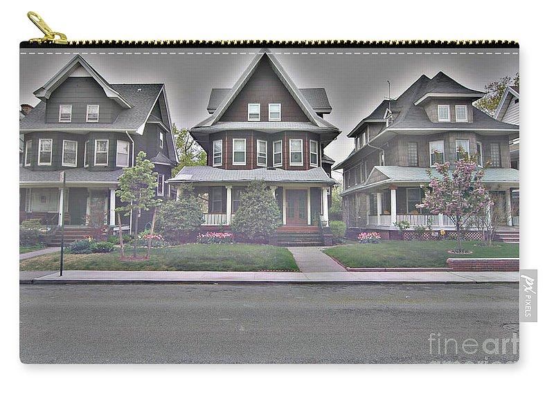 Bklyn Carry-all Pouch featuring the photograph Marlborough Road by Mark Gilman