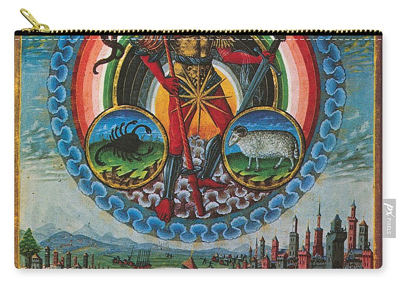 Astrology Carry-all Pouch featuring the photograph Mars, God Of War by Photo Researchers
