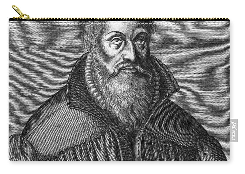 16th Century Carry-all Pouch featuring the photograph Martin Chemnitz (1522-1586) by Granger