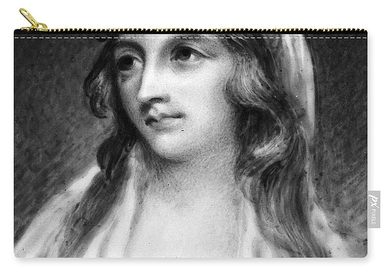 19th Century Carry-all Pouch featuring the photograph Mary Tighe (1772-1810) by Granger