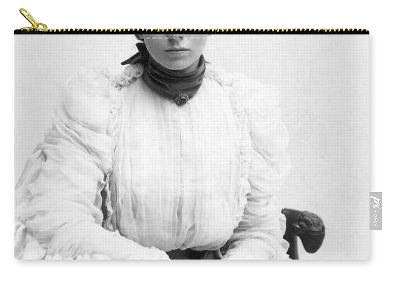 19th Century Carry-all Pouch featuring the photograph Maude Adams (1872-1953) by Granger