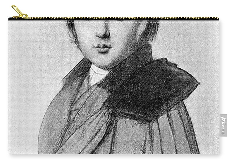 19th Century Carry-all Pouch featuring the photograph Maurice Sand (1823-1889) by Granger