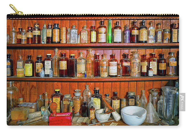 Medicines Carry-all Pouch featuring the photograph Medicinals by Dave Mills