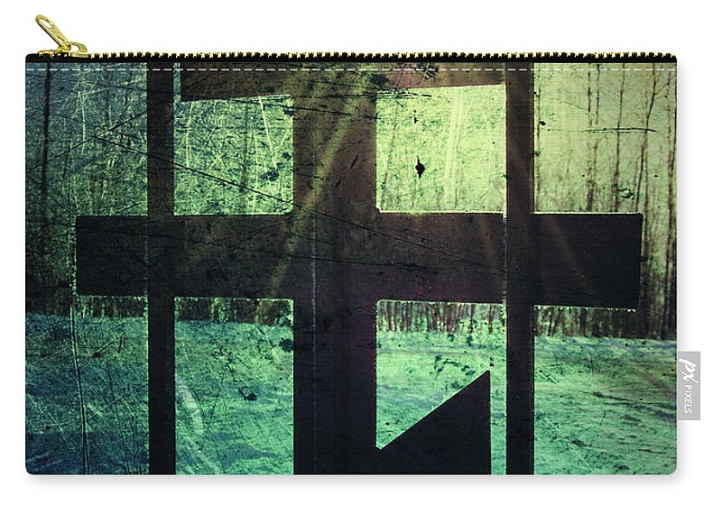 Jerry Cordeiro Carry-all Pouch featuring the photograph Meet At The Gate by The Artist Project
