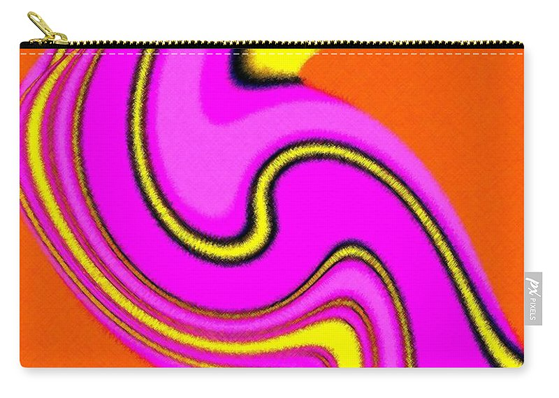 Micro Linear Carry-all Pouch featuring the digital art Micro Linear 23 by Will Borden