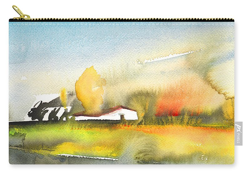 Midday Carry-all Pouch featuring the painting Midday 28 by Miki De Goodaboom