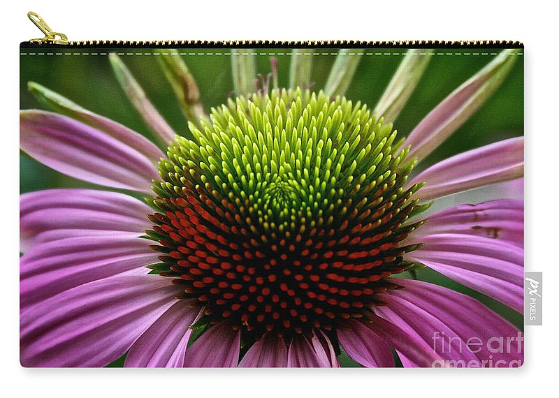 Floral Carry-all Pouch featuring the photograph Miles Of Smiles by Susan Herber