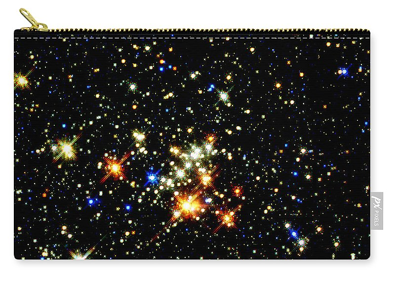 Nebula Carry-all Pouch featuring the photograph Milky Way Star Cluster by Jennifer Rondinelli Reilly - Fine Art Photography