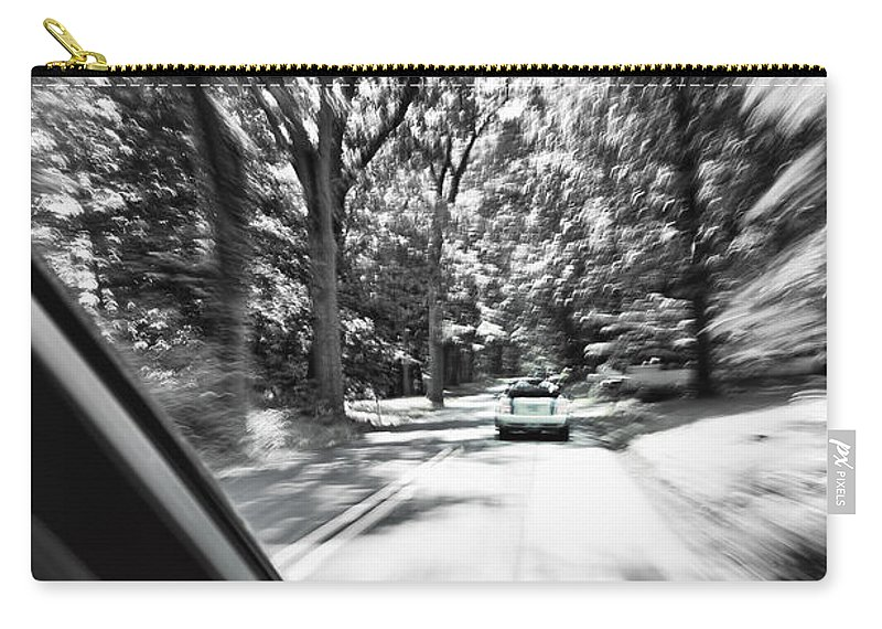 Mini Carry-all Pouch featuring the photograph Mini Warp by Scott Wyatt