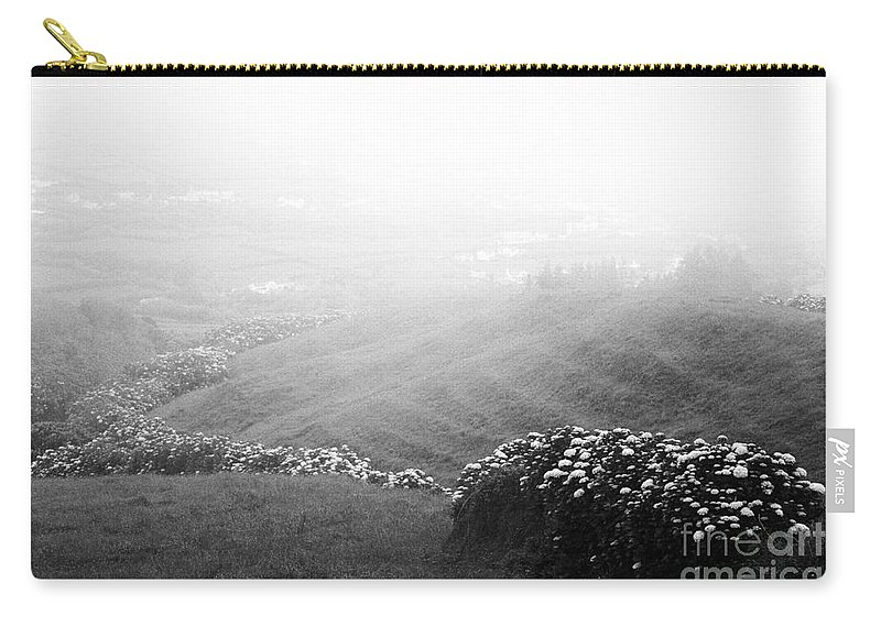 Minimalist Carry-all Pouch featuring the photograph Minimalist Landscape by Gaspar Avila