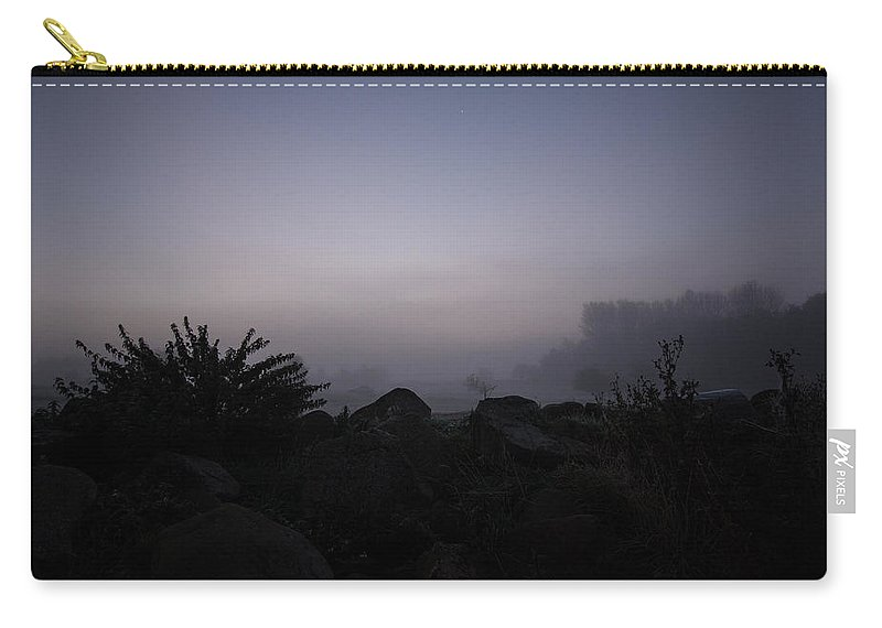 Mist Carry-all Pouch featuring the photograph Misty Morning by Dawn OConnor