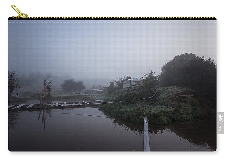 Mist Carry-all Pouch featuring the photograph Misty Reflections by Dawn OConnor