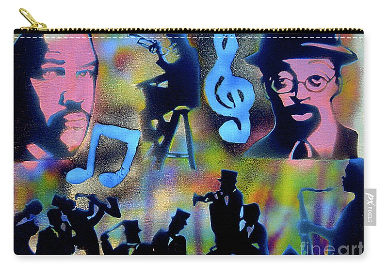 Spike Lee Carry-all Pouch featuring the painting Mo Betta Blues by Tony B Conscious