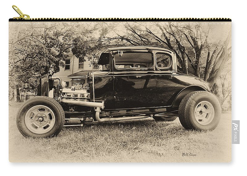 Ford Model A Carry-all Pouch featuring the photograph Model A Ford by Bill Cannon