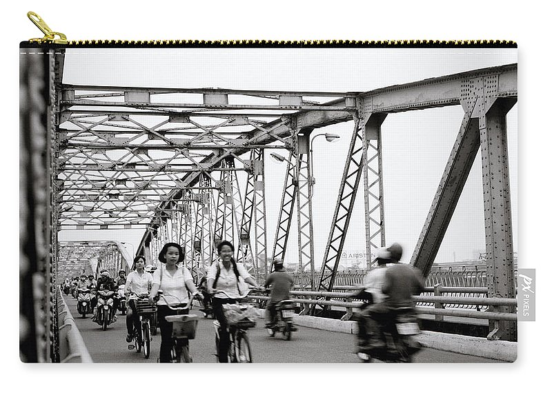 Asia Carry-all Pouch featuring the photograph Modern Hue by Shaun Higson