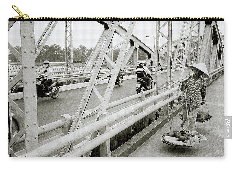 Asia Carry-all Pouch featuring the photograph Modernity In Hue by Shaun Higson