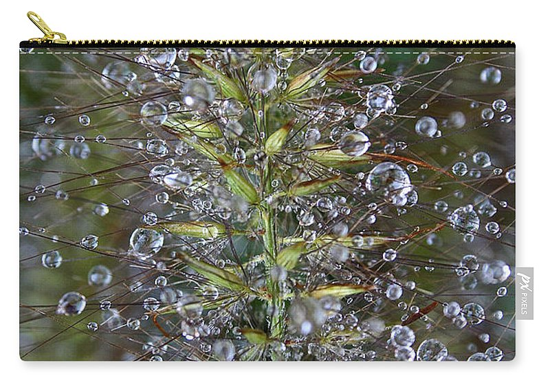 Outdoors Carry-all Pouch featuring the photograph Moisture by Susan Herber