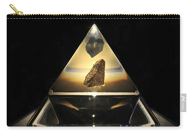 Fine Art Photography Carry-all Pouch featuring the photograph Moon Rock by David Lee Thompson