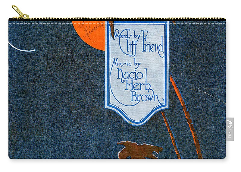 Classic Carry-all Pouch featuring the photograph Moonlit Water by Mel Thompson