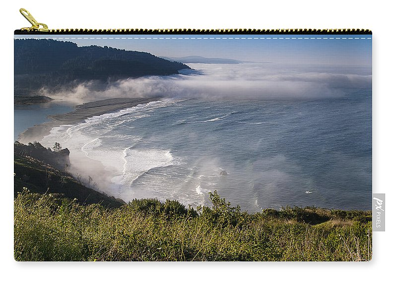 Klamath River Carry-all Pouch featuring the photograph Morning At Klamath River Overlook by Greg Nyquist