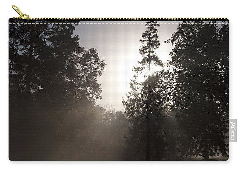 Morning At Valley Forge Carry-all Pouch featuring the photograph Morning At Valley Forge by Bill Cannon