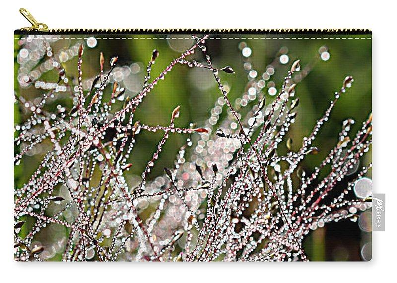 Lauren Radke Carry-all Pouch featuring the photograph Morning Dew by Lauren Radke