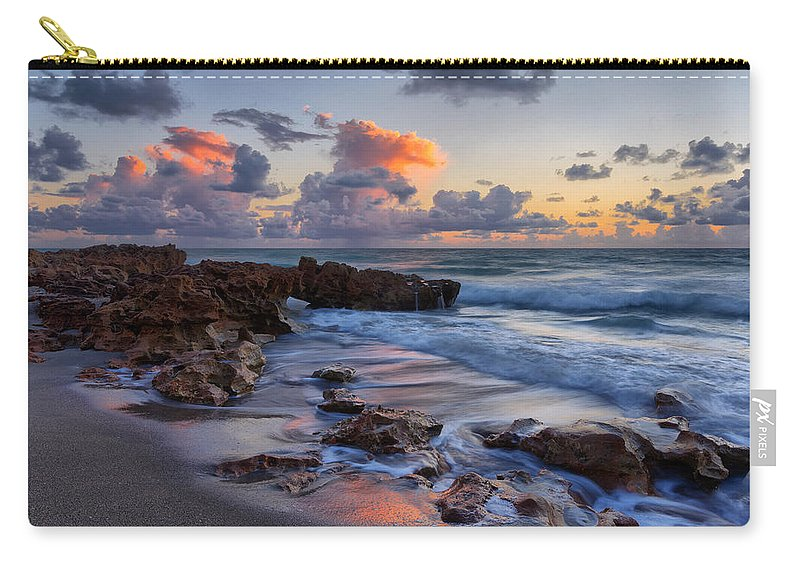 United States Of America Carry-all Pouch featuring the photograph Mornings Reflections by Claudia Domenig