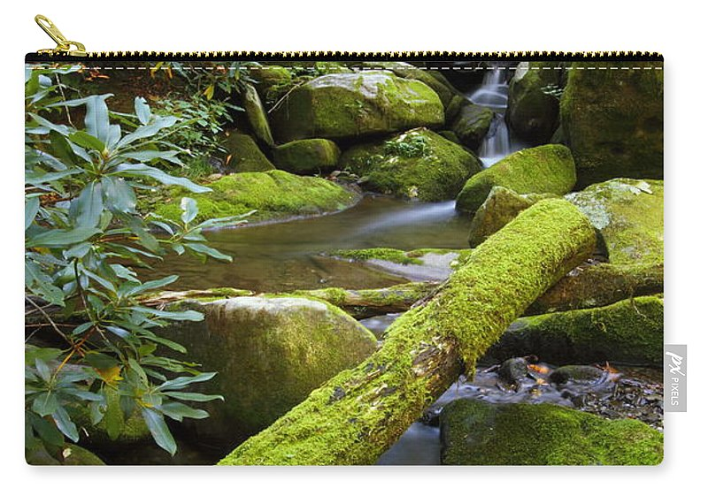 Tennessee Carry-all Pouch featuring the photograph Moss Flourishing by Andrew McInnes