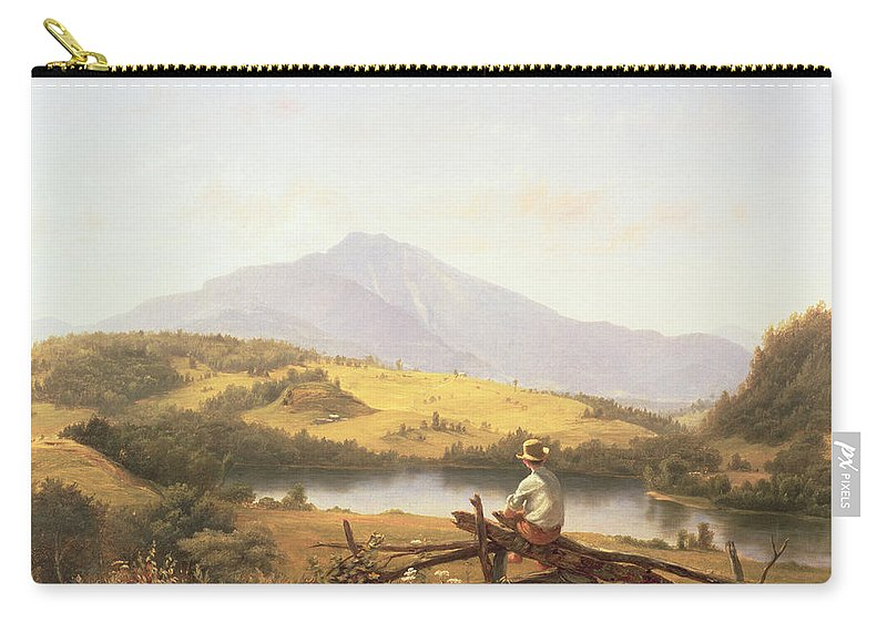 Mount Mansfield Carry-all Pouch featuring the painting Mount Mansfield by Jerome Thompson