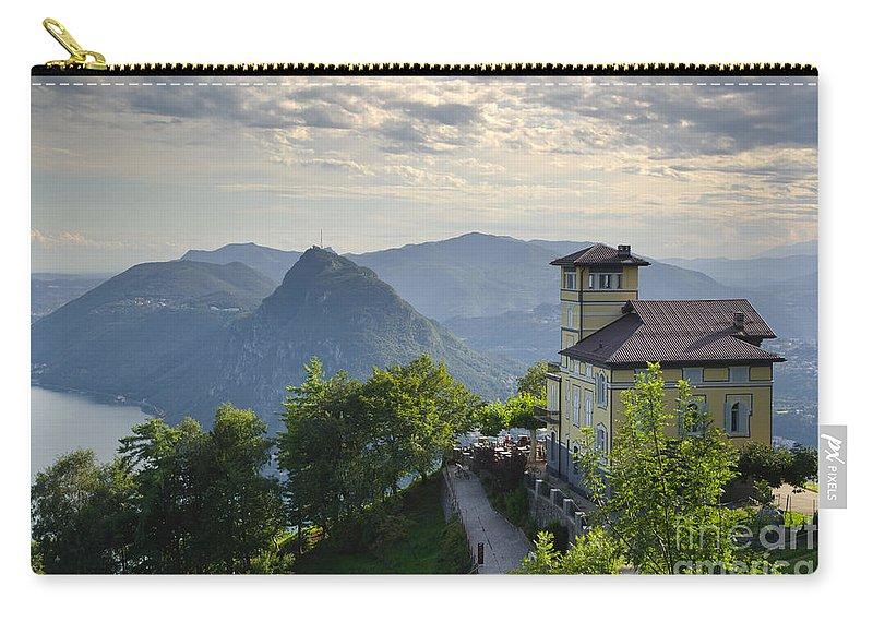 House Carry-all Pouch featuring the photograph Mountain Bre by Mats Silvan