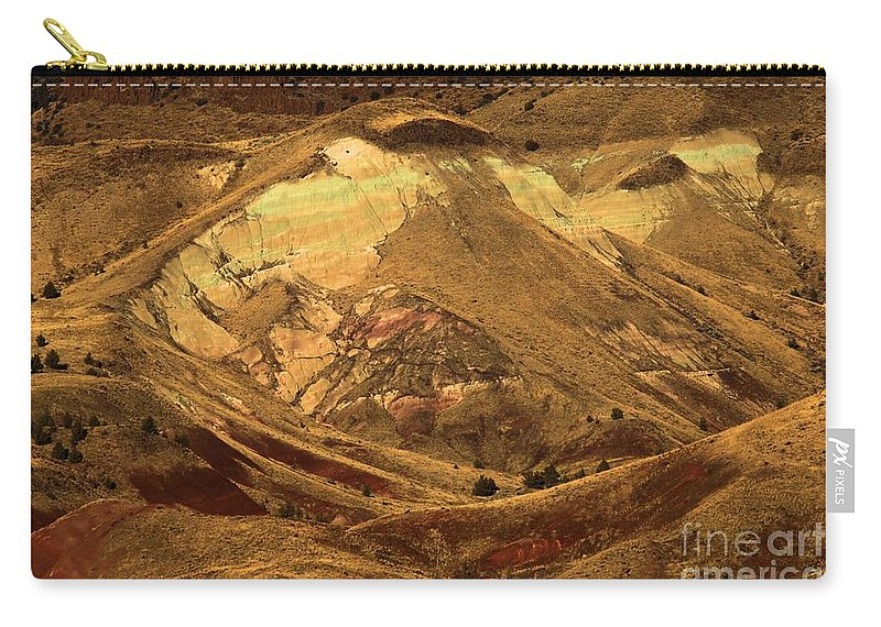 John Day Fossil Beds National Monument Carry-all Pouch featuring the photograph Mountain Buds by Adam Jewell