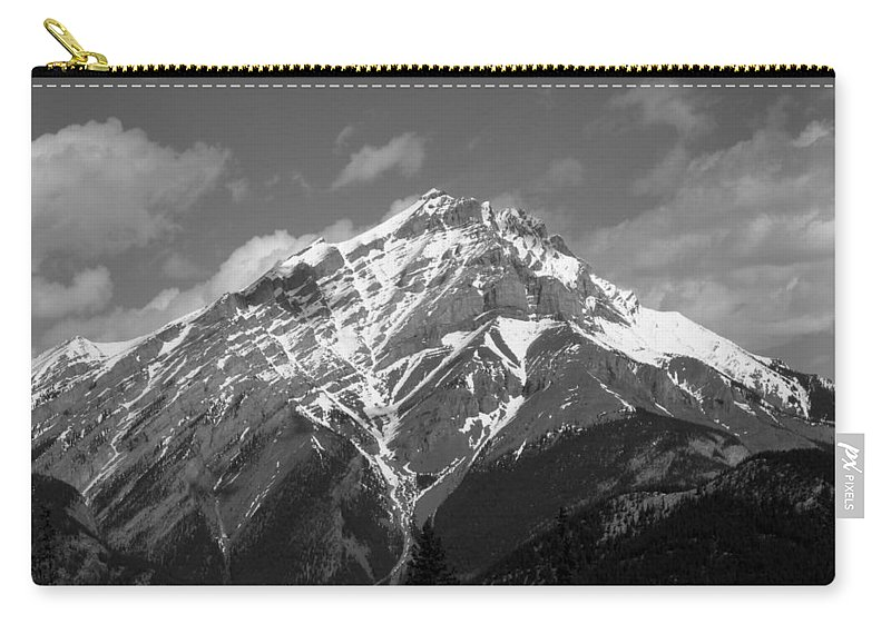 Mountain Carry-all Pouch featuring the photograph Mountain Cascade by Leanne Karlstrom