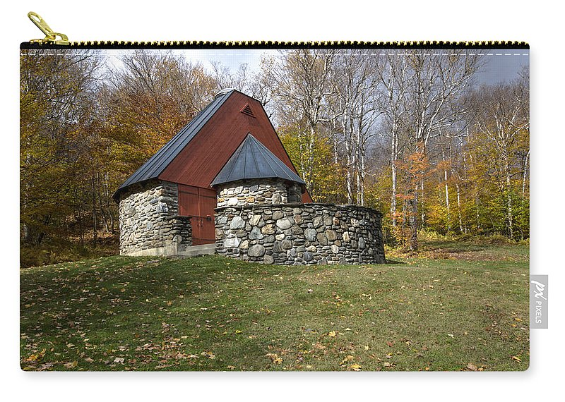 Mountain Chapel Carry-all Pouch featuring the photograph Mountain Chapel 22 by Paul Cannon