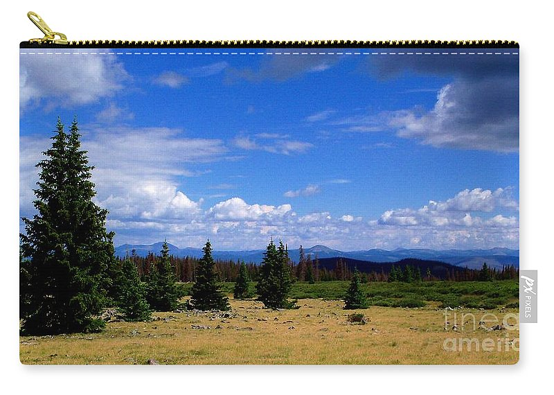 Landscape Carry-all Pouch featuring the photograph Mountain Top Landscape II by Samantha Glaze