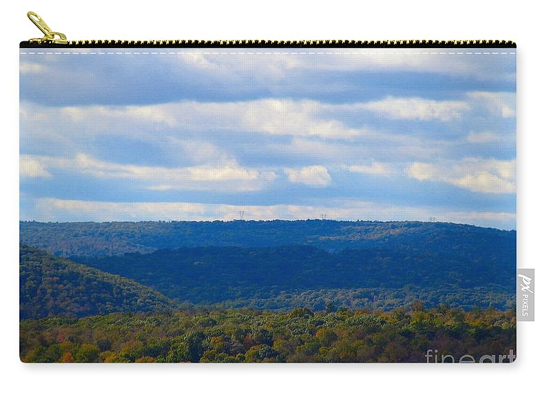 Mountains Carry-all Pouch featuring the photograph Mountains by Art Dingo