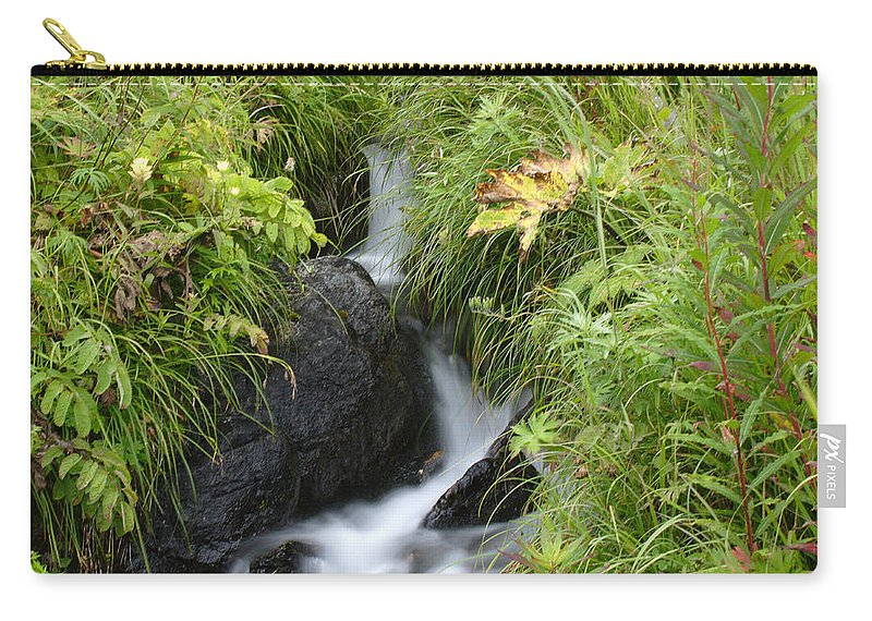 Doug Lloyd Carry-all Pouch featuring the photograph Moving Quick by Doug Lloyd