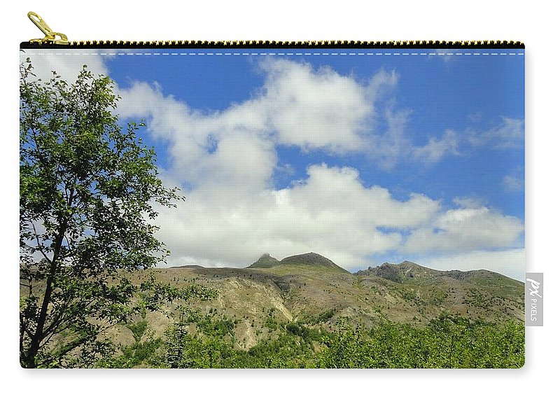 Photos Of Mt St Helens Photographs Carry-all Pouch featuring the photograph Mt St Helens 2 by Christy Leigh