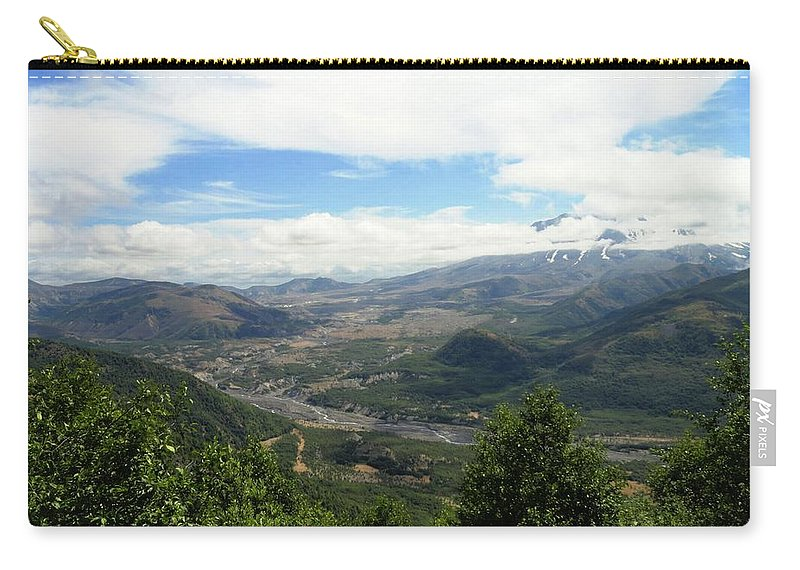 Photos Of Mt St Helens Carry-all Pouch featuring the photograph Mt St Helens by Christy Leigh