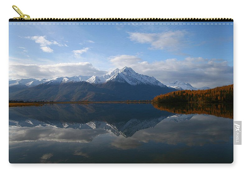 Doug Lloyd Carry-all Pouch featuring the photograph Mud Lake Reflection by Doug Lloyd