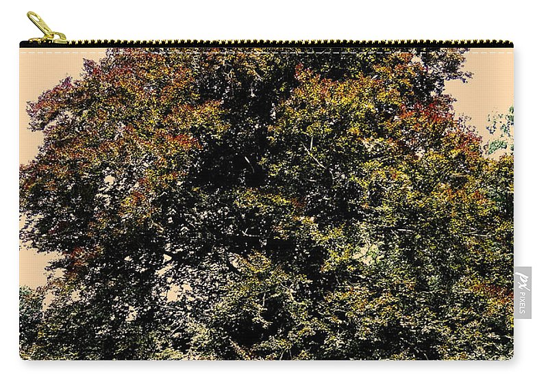 Sonne Carry-all Pouch featuring the photograph My Friend The Tree by Juergen Weiss