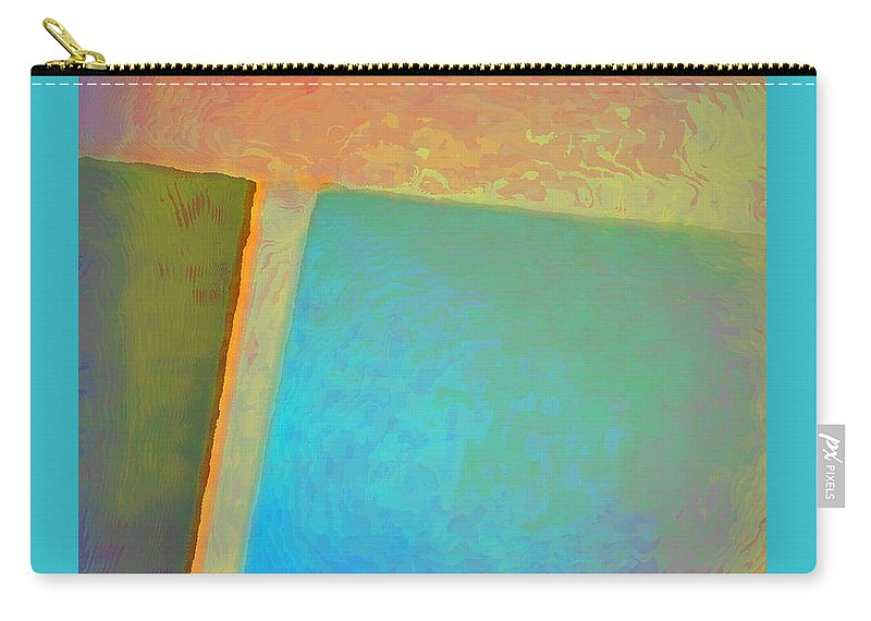 Landscape Carry-all Pouch featuring the digital art My Love by Richard Laeton