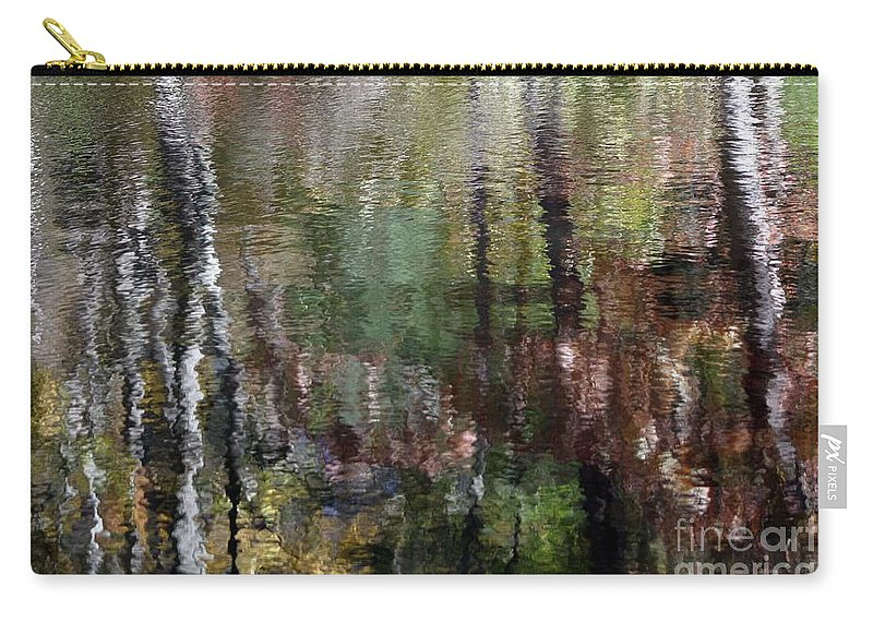 Waterscape Carry-all Pouch featuring the photograph My Monet by Living Color Photography Lorraine Lynch