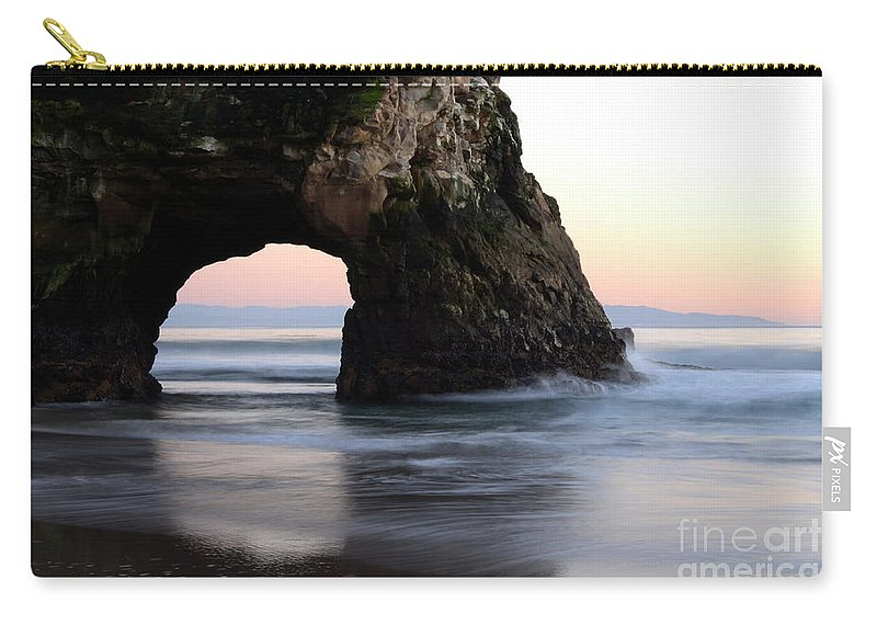 California Carry-all Pouch featuring the photograph Natural Bridge by Bob Christopher