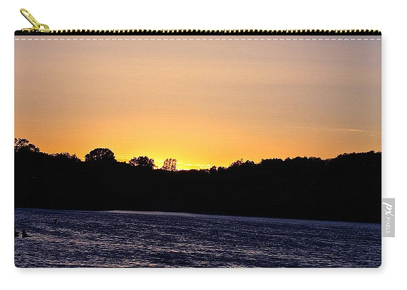 Minnesota Carry-all Pouch featuring the photograph Natural Pastels by Susan Herber