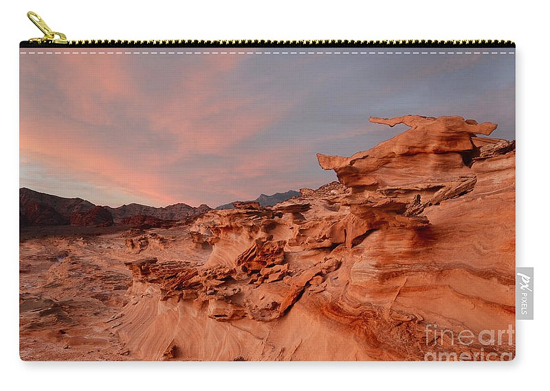 Little Finland Carry-all Pouch featuring the photograph Natures Artistry At Little Finland by Bob Christopher