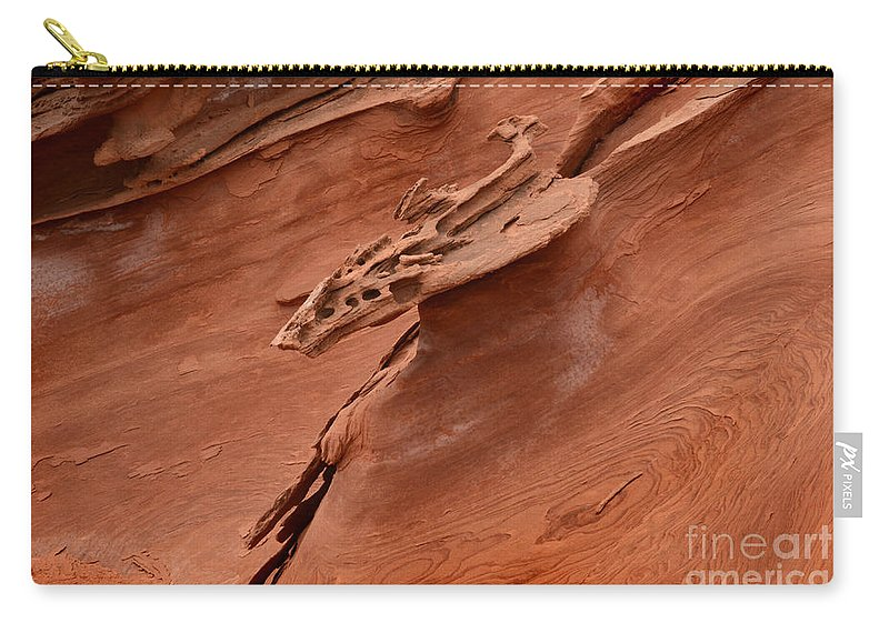 Little Finland Carry-all Pouch featuring the photograph Natures Artwork by Bob Christopher